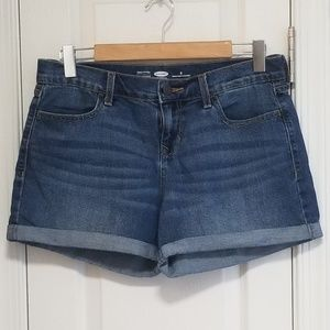 Old navy distressed cuffed shorts